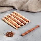 Мундштук длинный деревянный, микс