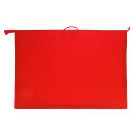 Папка А1 с ручками пластиковая 900х655х50 мм, красная