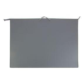 Папка А1, с ручками, пластиковая, молния сверху, 900 х 655 х 50 мм, «Оникс», ПР 4, цвет серый
