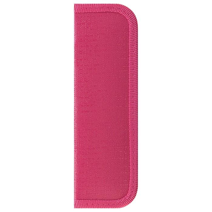 Пенал 1 секция «Кроха», розовый, 60 х 190, кож. заменитель, ПКЗ 01-51