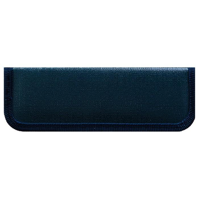 Пенал 1 секция «Кроха», темно-синий, 60 х 190, кож. заменитель, ПКЗ 01-51