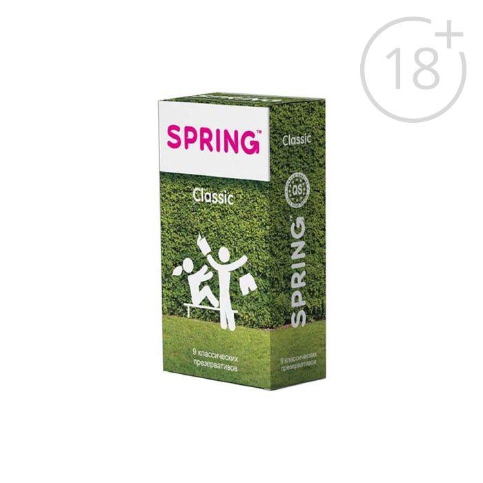 Презервативы SPRING Classic, 9 шт.