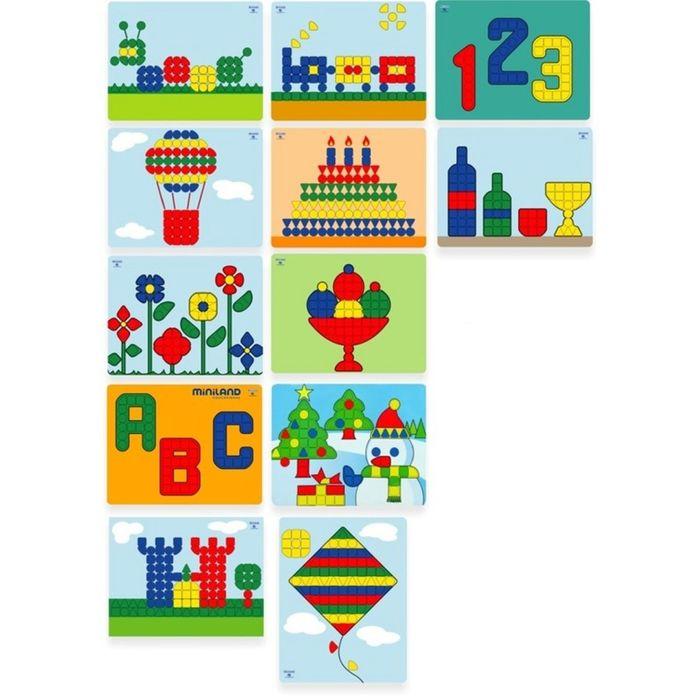 Набор картинок для мозаики «Гигант», 12 элементов