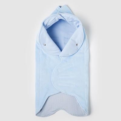 """Одеяло конверт трансформер в коляску """"Веселый день"""",цвет голубой ОКк/15(ВД) с/ВИ"""