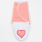 """Пеленка-трансформер """"Кокон"""", размер 22х52 см, цвет розовый ПеТ-2/КК"""