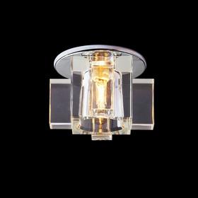 Светильник встраиваемый точечный Linvel G4-6.35 V 648 CH CLEAR 12V 35W