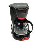 Кофеварка ENERGY EN-606, 800 Вт, резервуар 1,0 л, черная