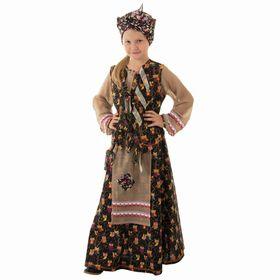 """Детский карнавальный костюм """"Баба-яга"""", р-р 56, рост 98-104 см"""