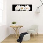 """Модульная картина на подрамнике """"Цветы яблони"""", 3 шт. — 50×50 см, 50×150 см"""