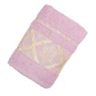 Полотенце махровое DO&CO жаккард 50*90 GELIDONYA, цв. светло-розовый