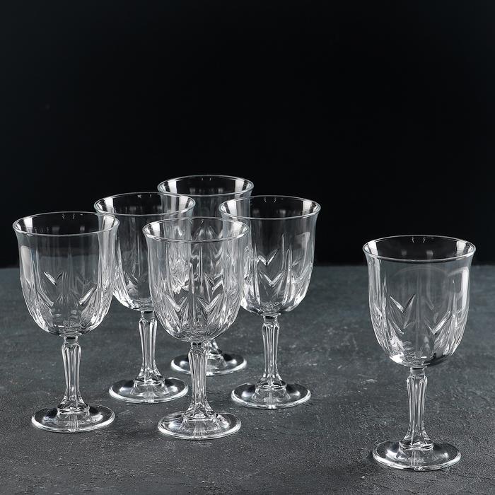 Набор бокалов для вина 270 мл Karat, 6 шт