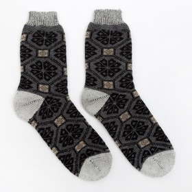 Socks man's woolen