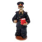 """Статуэтка """"Пожарный в парадной форме с книгой"""" микс"""