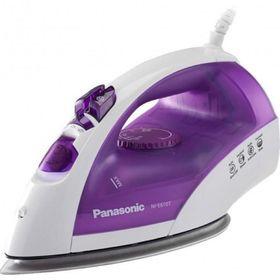 Утюг Panasonic NI-E610TVTW, 2380Вт, титановая подошва, 25 г/мин, 200 мл, бело-фиолетовый