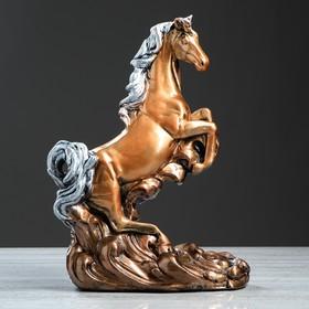 """Сувенир """"Конь на дыбах"""" бронза, 44 см, микс в Донецке"""