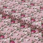 """Ткань для пэчворка """"Викторианские розы"""", 50х55см,146±5г/кв.м, ВР-20, цвет розовый"""