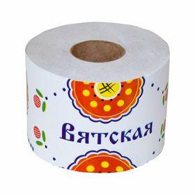 """Туалетная бумага """"Вятская"""", 1 слой"""
