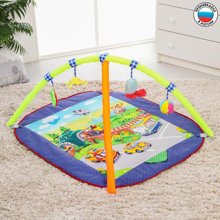 Развивающий коврик «Веселый парк», с дугами, виды МИКС