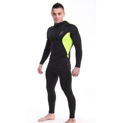 Толстовка мужская спортивная, цвет чёрный, рост 170-176 см, размер 52 (104)