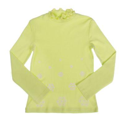 """Джемпер для девочки """"Шары цветов"""", рост 86-92 см (26), цвет лимонный"""