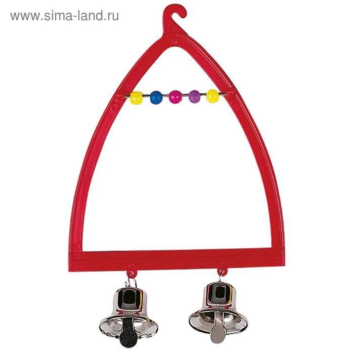 Игрушка для птиц Ferplast PA 4058 качели с колокольчиком