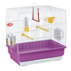 Клетка Ferplast Rekord 2 40*25*41 белая для птиц