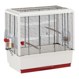 Клетка Ferplast Piano 3 49*30*53 черная открытая для птиц