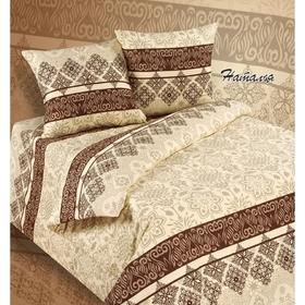 Bed linen euro Sudarushka Natalia 205 × 217cm, 220 × 240 cm, 70 × 70 cm 2 pcs., Calico, 125 g / m²