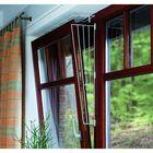 Решетка Trixie защитная для окон, боковая панель, 62 х 16/8 см, белый