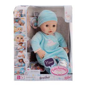 Кукла-мальчик Baby Annabell многофункциональная, 46 см