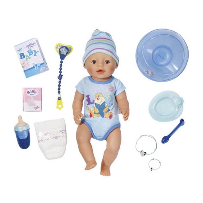 Кукла-мальчик BABY born интерактивная