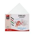 Альбом для графики А3 Fabriano Dibujo Desenho 10 листов 130 г/м2 конверт