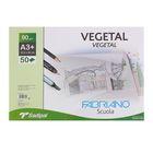 Калька для художественных работ А3+ Fabriano Vegetal 50 листов 90 г/м2 блок склееный