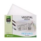 Калька для художественных работ А4 210*297 Fabriano Vegetal 12 листов 90 г/м2 конверт F74233272