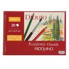 Альбом для смешанных техник В4 Fabriano Dibujo-Pintura 20 листов 160 г/м2 перфорация