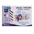 Альбом для смешанных техник А3+ Fabriano Dibujo-Pintura 20 листов 160 г/м2 перфорация