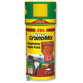 """Основной корм JBL NovoGranoMix для """"общих"""" аквариумов, гранулы, 250 мл"""