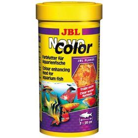 Основной корм JBL NovoColor для рыб, яркий окрас, хлопья, 250 мл, 45 г