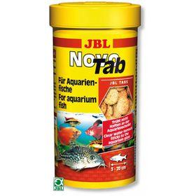 Корм JBL NovoTab для всех видов аквариумных рыб, таблетки, 100 мл.(160 шт.)