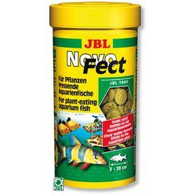 Корм JBL NovoFect для растительноядных рыб, таблетки, 100 мл.(160 шт.)
