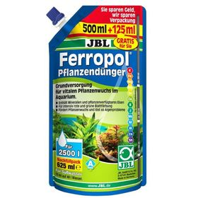 Жидкое комплексное удобрение с микроэлементами в экономичной, JBL Ferropol -  упаковке 625 мл   1829