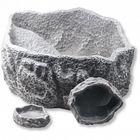 Поилка/кормушка для рептилий, серая, 6 х 4 х 1 см, JBL Reptil Bar GREY XS