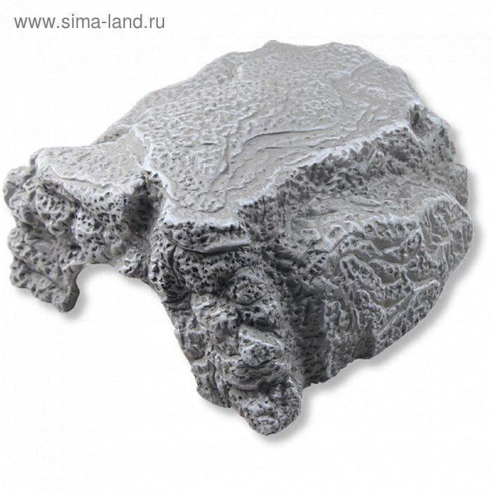 Пещера для террариумных животных, серая, 16 х 13,5 х 10 см, JBL ReptilCava GREY M