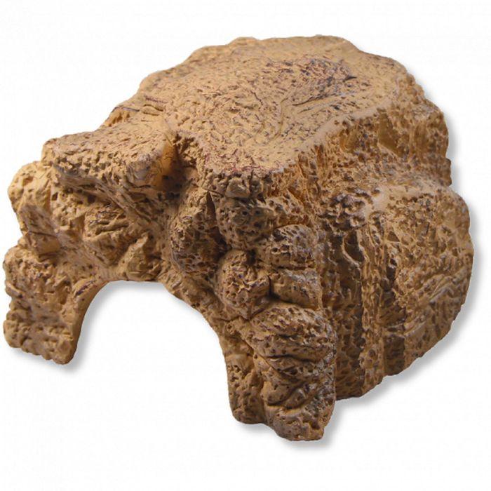 Пещера для террариумных животных, песочная, 11 х 11,5 х 6,5 см, JBL ReptilCava SAND S