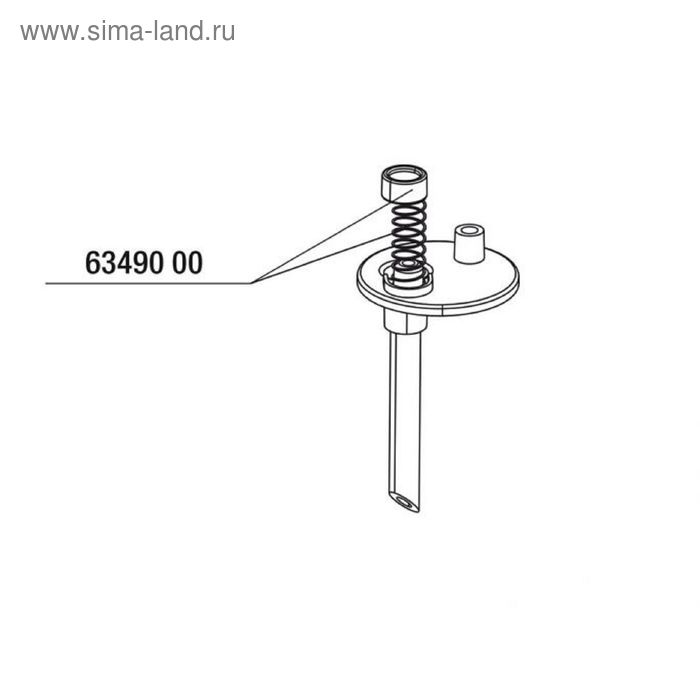 Сменная пружина с прокладкой для JBL ProFlora CO2 CountSafe, JBL CO2 CountSafe spring + seal   18292