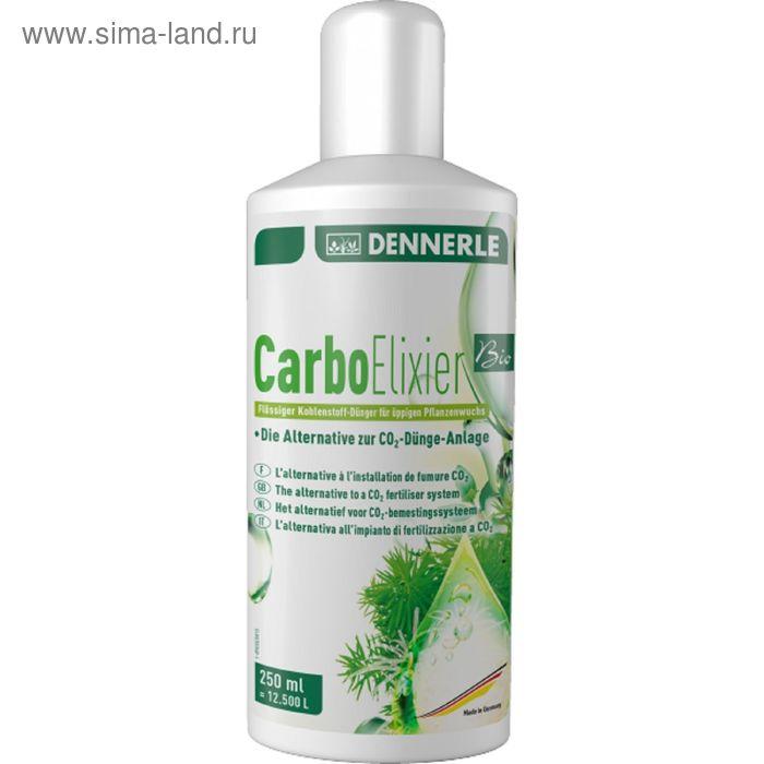 Натуральное жидкое углеродное удобрение с калием и микроэлементами,Dennerle Carbo Elixier BIO, 250 м
