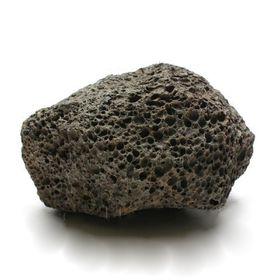"Камень натуральный UDeco Black Lava S ""Лава чёрная"" размер 10-20 см, m=0,5-1 кг, 1 шт"