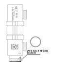Уплотнительное кольцо для входа лампы в корпус УФ-стерилизатора 18/36 Вт, JBL UV-C 18/36W  O-Ring