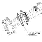 Уплотнительная прокладка для электрического блока УФ-стерилизаторов AquaCristal UV-C 72/110WЮ, JBL U