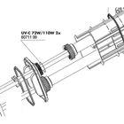 Уплотнительное кольцо для кварцевой колбы УФ-стерилизаторов AquaCristal UV-C 72/110W,JBL UV-C 72/110